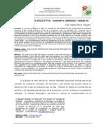 LA EVALUACION EDUCATIVA  CONCEPTO, PERÍODOS Y MODELOS