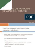 Efectos de Las Hormonas Gonadales en Adultos