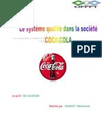 OUKAITI Mohamed LE SYSTÈME QUALITÉ COCA_3