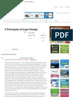 9 Principles of Logo Design - DesignMk