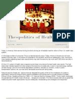 Theopolitics of Health Care