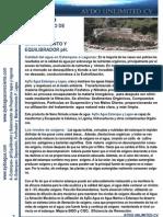 Estanques y Lagos Tratamiento Agua y Ph Cv 3pag Aydoagua.com