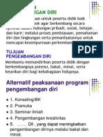 program pengembangan diri SMP dalam bentuk model.ppt