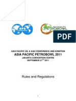 PETROBOWL Rules and Regulation 2011 - Final