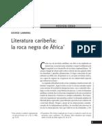 george lamming - literatura caribeña la roca negra de africa