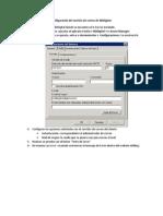Configuración del servicio de correo de NDDigital