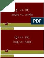 Minimal Pairs Consonants g k a314-Signed