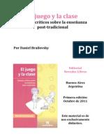 Daniel Brailovsky, El Juego y La Clase