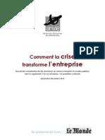 Anvie-Le Monde - Comment la crise change l'entreprise.pdf