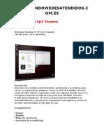 Windowx Xp Sp3 Shadow
