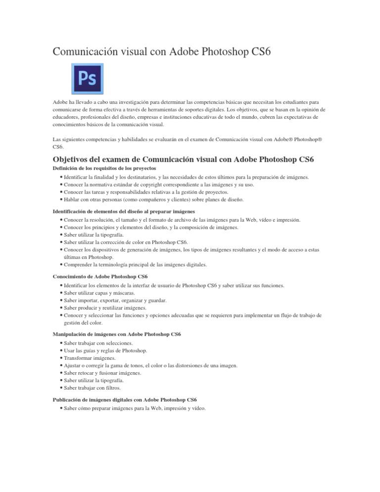 requisitos photoshop cs6