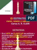 02 - El Estratega. Carlos Cleri