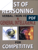 Test of Reasoning Verbal Non Verbal and General Intelligence