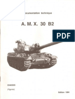 Armor Manuals Documentation Technique AMX 30 B2 Chassis Partie Figures (OCR)