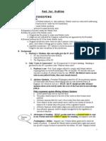 Rogers' Fed Jur Outline