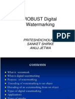 Digital Watermaking (2)
