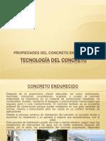 Propiedades Concreto Endurecido-resistencia y Tipos- 2011