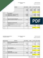 Planilha Orçamentária de Contrução Civil