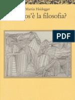 142154580 Heidegger Che Cos e La Filosofia