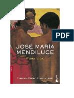 Mendiluce, José María - Pura vida