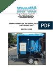 Transformer Oil Filtering Unit - s1000