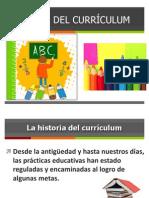 Historia Del Curriculum