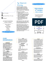 class info brochure