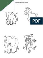 1 Animales Colorear
