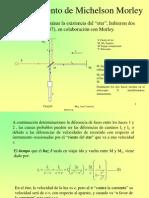 El Experimento de Michelson Morley