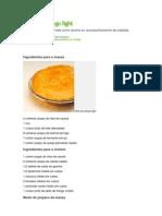 Torta de Frango Light