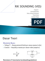 Geolistrik Sounding (Ves)
