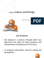 Job Analysis & Design