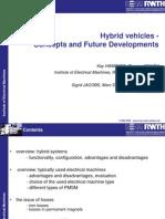 Apresentação - Hybrid vehicles - Concepts and Future Developments