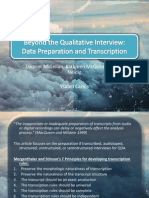 Beyond the Qualitative Interview