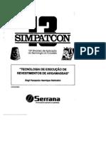 13º SIMPATCON - Sabbatini - tecnologia de execução de revestimentos de argamassas.pdf