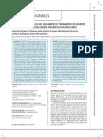 Paolino et al (2011) Determinantes sociales del abandono del proceso de prevención...