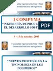 Nuevos Procesos en La Tecnologia de Los Polimeros
