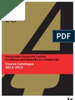 Course Catalogue 2012 2013 (1)