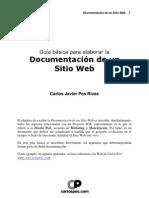 Guia Documentacion de Un Sitio Web