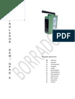 GPRS-A Especificaciones SR3