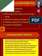 Masurarea Cu Micrometrul