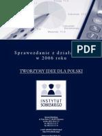 Is Sprawozdanie 2006
