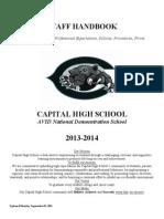 chs staff handbook 2013-2014