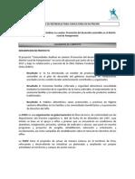Terminos de Referencia Consultoria en Nutricion Comac II