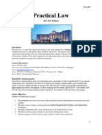 Practical Law Syllabus