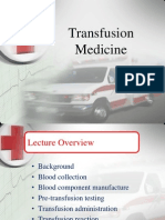 3. Transfusion Medicine