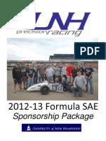 2012-2013SponsorshipPackage