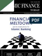 Islamic Finance Todady Oct Dec 2008