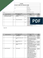 Example JSA Job Safety Analysis