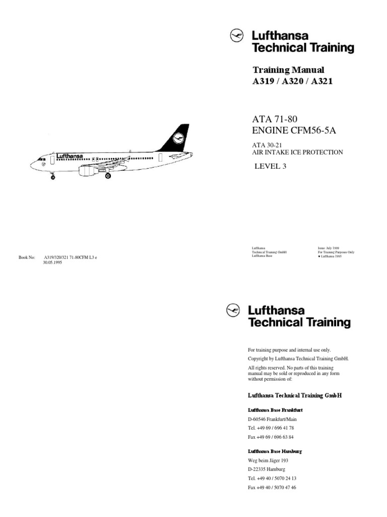 Cfm56 Training Manual-lufthansa | Mechanical Fan | Turbine